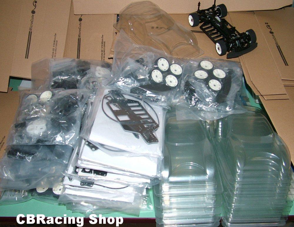 Présentation de la Microcute Q2 1/18éme 4x4 piste à courroie !! By CBRacing Stock